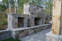 outdoor fireplaces plans