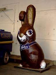 cadbury chocolate bunny