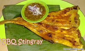 stingray food