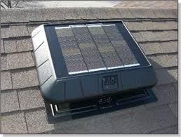 solar powered attic vents