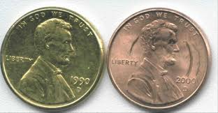 gold pennies