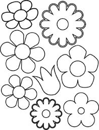 moldes para flores