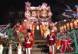christmas decorations houses