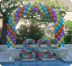 birthday balloon decorations