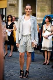 shorts suits