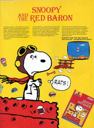 snoopy red baron pictures