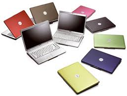 dell laptop color