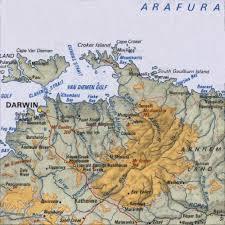 darwin maps