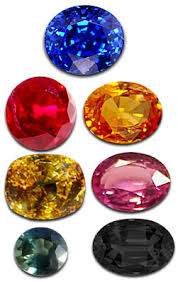 colours of sapphires