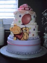 baby winnie the pooh cakes
