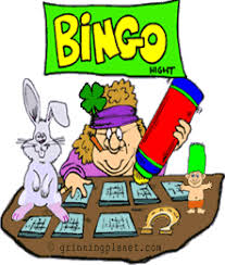 cartoon bingo