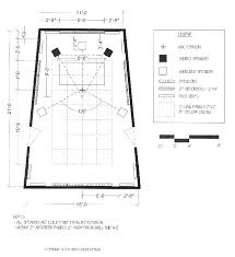 art studio floor plan