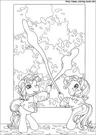 my little ponies coloring