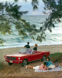 ford mustang ads