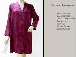 nightshirt silk