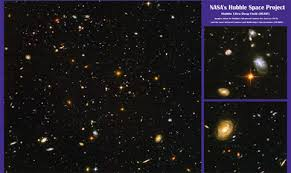 hubble ultra deep field poster