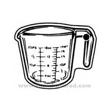 measuring cup clip art