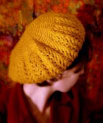 knitted beret pattern
