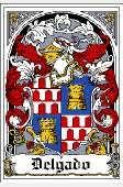 delgado family crest