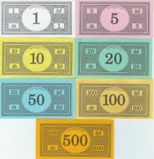monopoly money clip art