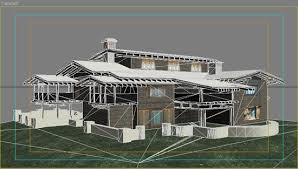 3d max architecture
