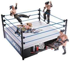 action figure wrestling