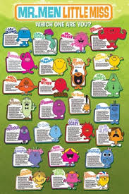 mr men and little miss poster