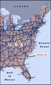 east coast highway map