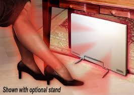 legs under desk