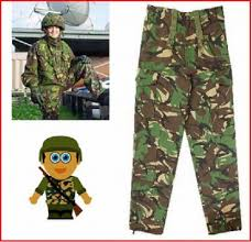 army combat trousers