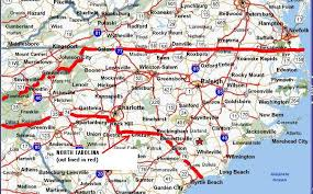 maps of nc
