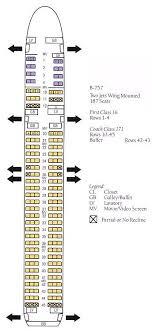 boeing 757 seating plan