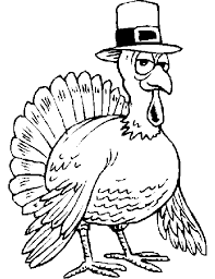 coloring pages turkey