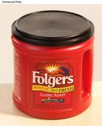 folgers coffee cans