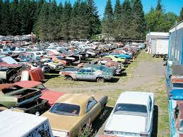 salvage yards cars