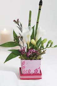 asian floral arrangement