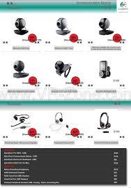 logitech webcam list