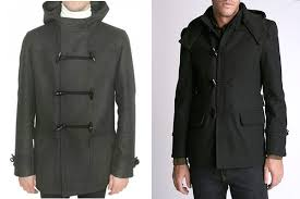 d collection captain toggle coat