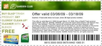 home depot coupons 2009