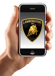 lamborghini iphone