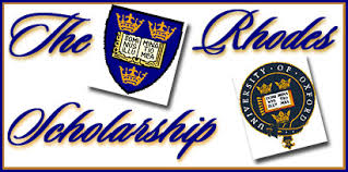 23rd Rhodes Scholarship