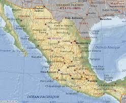 carte de mexique