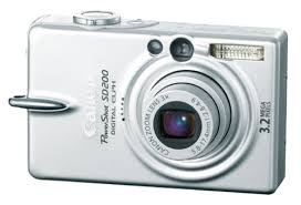 canon power shot sd200