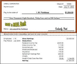 paycheck example