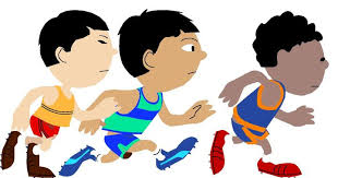 kids running races