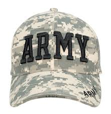 army ballcap