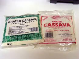 frozen cassava
