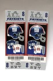 nfl game ticket