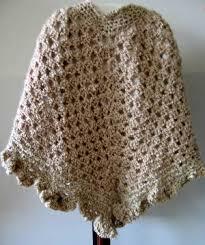 crocheted ponchos