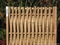 bamboo fence design